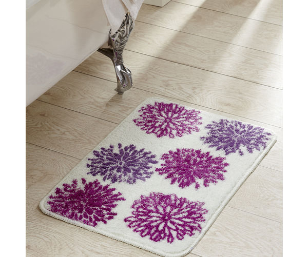 Bathmat Flower - @home Nilkamal