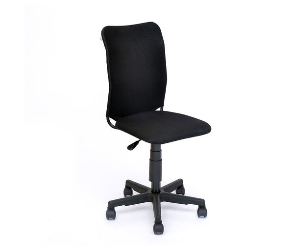 Nano Office Chair without Arm - @home Nilkamal,  black