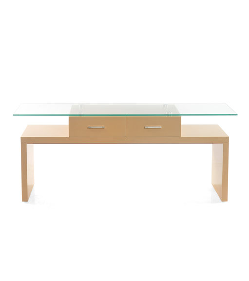 Dessi Low Height Wall Unit- @home By Nilkamal, Sand Beige