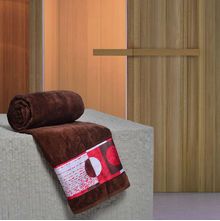Novelty 70 x 140 cm Bath Towel - @home by Nilkamal, Brown