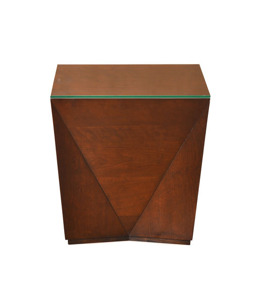Nixon Antique Cherry Side Table - @home by Nilkamal