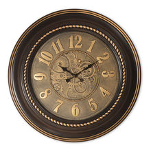 Gold Beads Wall Clock - @home by Nilkamal