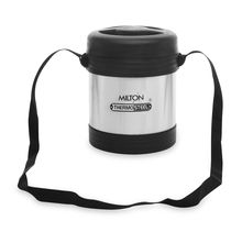 Milton Legend Lunch Box, 3 pieces - Black & Silver