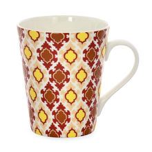Aroha Jharokha Coffee Mug - @home by Nilkamal, Maroon