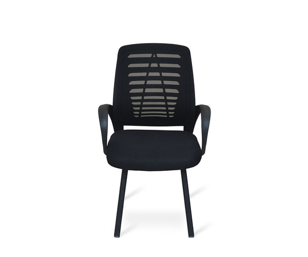 Arrow Visitor Chair - @home Nilkamal,  black