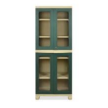 Nilkamal FB3 Freedom Cupboard - Olive Green and Pastel Green