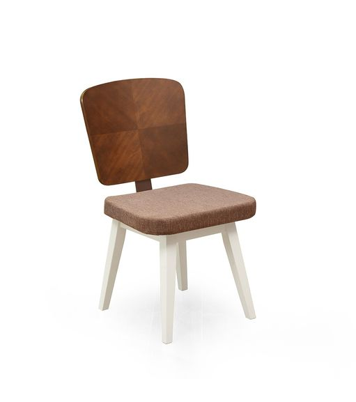 Benny Dining Chair - @home by Nilkamal,  white