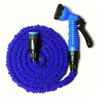SuperDeals Compact Water Spray Pipe with Gun Expandable Hose 15m50ft