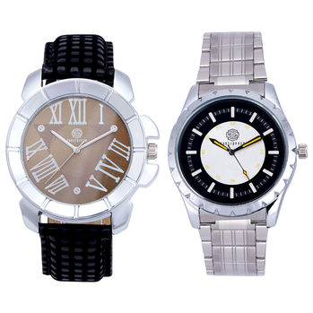 Shostopper Vintage Collection Combo Watches for Mens SJ166WCB