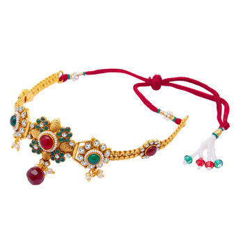 Sukkhi Trendy Gold Plated Bajuband For Women