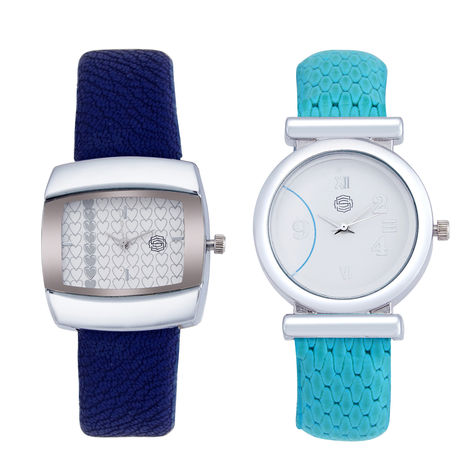 Shostopper Vintage Collection Combo Watches for Womens SJ187WCB