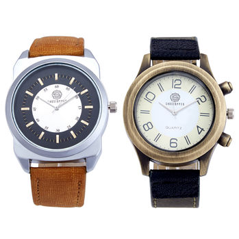 Shostopper Vintage Collection Combo Watches for Mens SJ170WCB