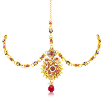 Sukkhi Ethnic Gold Plated Mathapatti For Women