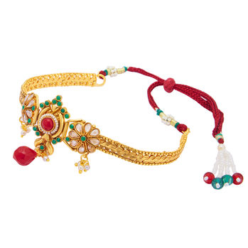 Sukkhi Delightful Gold Plated Bajuband For Women