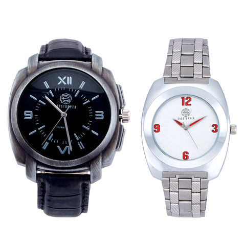 Shostopper Vintage Collection Combo Watches for Mens SJ175WCB