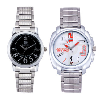 Shostopper Vintage Collection Combo Watches for Mens SJ177WCB