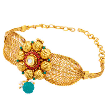 Sukkhi Classy Gold Plated Bajuband For Women