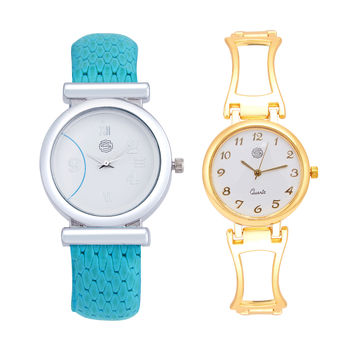 Shostopper Vintage Collection Combo Watches for Womens SJ192WCB