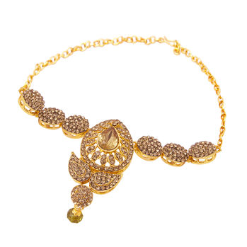 Sukkhi Ritzy Gold Plated AD Bajuband For Women