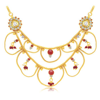Sukkhi Exotic 2 String Gold Plated Kamarband For Women