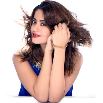 Sukkhi Surveen Chawla Collections Lavish Gold and Rhodium Plated CZ Bracelet