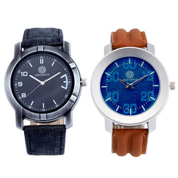 Shostopper Vintage Collection Combo Watches for Mens SJ173WCB