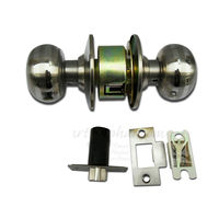 Bathroom Latch Lock, gold, stainless steel, light