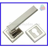 MORTISE ROSE HANDLE - JANTY, 2-2.5 inches, gold silver, zinc