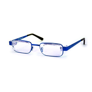 Eyejusters - Adjustable reading glasses,  Blue
