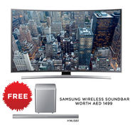 SAMSUNG CURVED UHD TV JU6600 Series 65 Inch-With Digital Tuner, x1