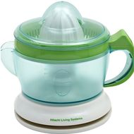 Hitachi Citrus Juicer, HJC40P, White/Green, 40 W
