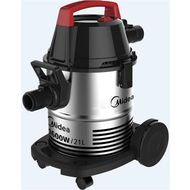 MIDEA DRUM TYPE WET AND DRY VACUUM CLEANER-VTW21A15T, 1600W,  Stainless Steel