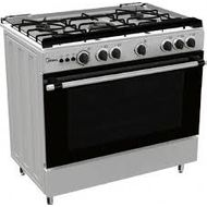 MIDEA 90x60 GAS COOKER, LME95022SSFFD,  STAINLESS STEEL