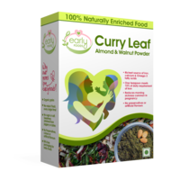 Early Foods Prenatal Nutrition - Curry Leaf, Almond & Walnut Chutney Powder 150 gm