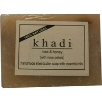 Khadi Rose Honey Soap with Rose Petals 100Gms