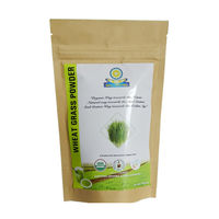 Certified Organic Wheat Grass Powder, 100 gms