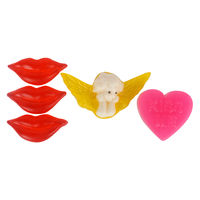Soap Opera Buy 2 designer soaps & Get 1 Free - Message Heart+ Angel+ Lips (Free) 165 gm