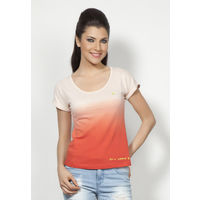 DUSG - Padmasana Women's Organic Yoga Top, Colour: Linen, xl