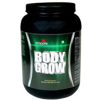 Mapple Body Grow Whey Protein Supplement 600Gms, american ice cream