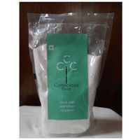 Conscious Food Rock Salt - 500 gms