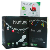 Nurture Combo - TWO Sanitary Pads and one Chemical Free Panty Liner