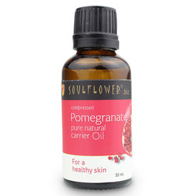 Soulflower Coldpressed Pomegranate Carrier Oil - 30 ml