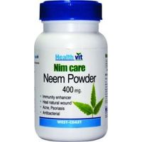 HealthVit NEEMCARE Neem Powder 400 mg 60 Capsules (Pack Of 2)