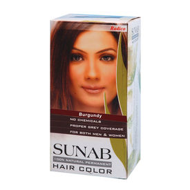 Radico Sunab Herbal Burgundy Hair Colour - 60gm