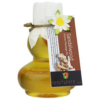 Soulflower Sandalwood Aroma Massage Oil - 90 ml