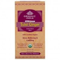 Organic India - Tulsi Ginger (25 Tea Bags)