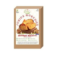 Early Foods Organic Whole Wheat Dry Fruit Biscotti - 150gms
