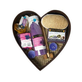 Soulflower Lavender Spa Set - 1030 gms