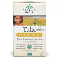 Organic India - Tulsi Sweet Lemon Tea (18 Tea Bags)