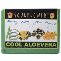 Soulflower Aloevera Soap - 150 gms